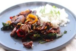 Lamb í wok