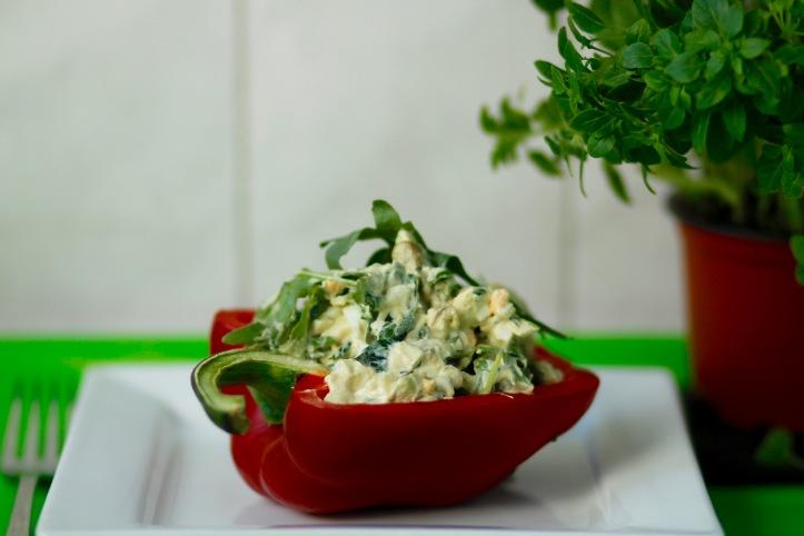 Eggja- og avókadósalat (5)